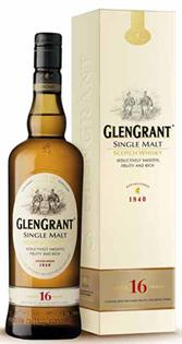 Glen Grant Scotch Single Malt 16 Year 750ml